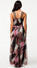 LITTLE MISTRESS - Printed Maxi Dress - Designer Dress hire