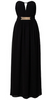 LITTLE MISTRESS - V-Front Long Dress - Designer Dress hire