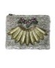 WILBUR AND GUSSIE - Tinker Clutch - Purple - Designer Dress hire