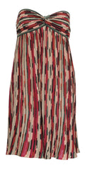 M MISSONI - Baby Doll Stripe Dress - Designer Dress Hire