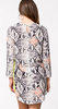 MSGM - Snake Abitino Dress - Designer Dress hire