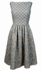DIANE VON FURSTENBERG - Zarita Lace Dress Black - Designer Dress hire