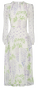 ARIELLA - Ophelia Beaded Cape Dress - Designer Dress hire