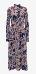 MARKUS LUPFER - Arctic Flower Crepe Dress - Designer Dress Hire