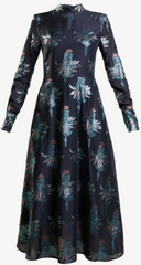 MARKUS LUPFER - Polar Flower Maxi Dress - Designer Dress Hire
