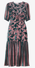 MARKUS LUPFER - Fish Velvet Cocktail Dress - Designer Dress hire