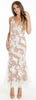 Self Portrait - Bellis Lace Maxi Dress - Designer Dress hire