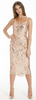 ARIELLA - Rosanna Beaded Dress - Designer Dress hire