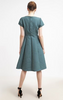 MAX & CO - Palermo Green Dress - Designer Dress hire