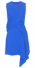 McQ ALEXANDER MCQUEEN - Draped Cobalt Dress - Designer Dress hire