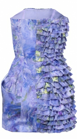 MIA JAFARI - Sunset Impression - Designer Dress hire
