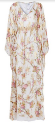 MICHAELA FRANKOVA - Gold Floral Dress - Rent Designer Dresses at Girl Meets Dress