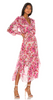 DRIES VAN NOTEN - Scarf Wrap Dress - Designer Dress hire