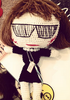 MUA MUA - Anna Wintour Doll - Designer Dress hire