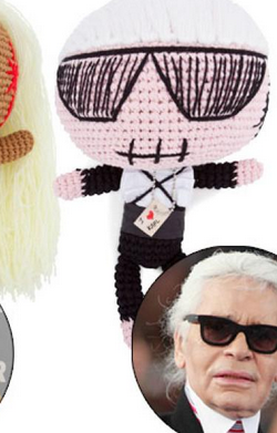 MUA MUA - Karl Lagerfeld Doll - Designer Dress hire