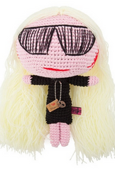 MUA MUA - Franca Sozzani Doll - Designer Dress Hire
