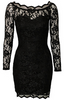 DIANE VON FURSTENBERG - Zarita Lace Dress Blue - Designer Dress hire