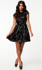 NLY - Jules Dress Black - Designer Dress hire