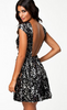 NLY - Jules Dress Silver - Designer Dress hire