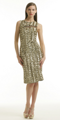 BADGLEY MISCHKA - Sequin Cut Out Dress - Rent Designer Dresses at Girl Meets Dress