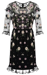NEEDLE & THREAD - Floral Embroidered Dress - Rent Designer Dresses at Girl Meets Dress