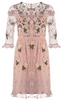 LITTLE MISTRESS - Paisley Sequin Dress - Designer Dress hire