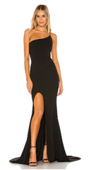 NOOKIE - Jasmine One Shoulder Gown - Designer Dress Hire