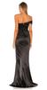 NOOKIE - Zodiac Black Gown - Designer Dress hire