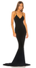 QUIZ - Black Sequin Cap Sleeve Dress - Designer Dress hire
