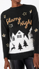M&S COLLECTION - Starry Night Christmas Jumper - Designer Dress hire