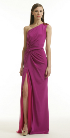 BADGLEY MISCHKA - Ombre Burst Gown - Designer Dress hire