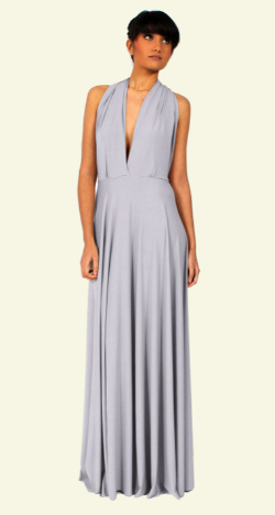 WILLOW & PEARL - Willow Multiway Periwinkle Dress - Designer Dress hire