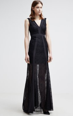 PATRIZIA PEPE - Lace Panel Gown - Designer Dress hire