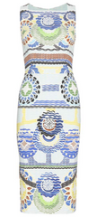 PETER PILOTTO - Kia Printed Dress - Designer Dress Hire
