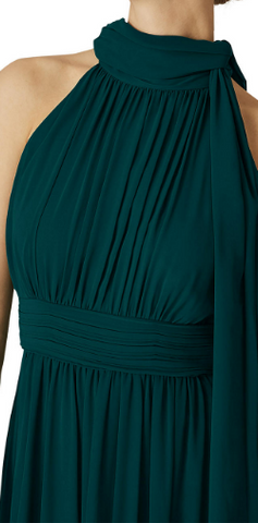 PHASE EIGHT - Roxi Halterneck Emerald - Designer Dress hire