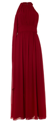 PHASE EIGHT - Roxi Halterneck Scarlet - Designer Dress Hire