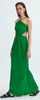 DIMA AYAD - Flared Tricolor Dress - Designer Dress hire