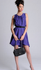 PROENZA SCHOULER - Summer Silk Belted Dress - Designer Dress hire