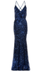 QUIZ - Teal Sequin Lace Dress - Designer Dress hire