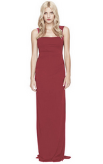 NICOLE MILLER - Felicity Gown Red - Rent Designer Dresses at Girl Meets Dress
