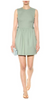 RED VALENTINO - Lace Up Green Dress - Designer Dress hire