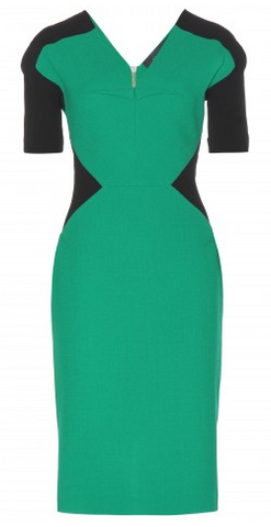 Roland Mouret Woman Draped Asymmetrical Wool-crepe Dress Jade Size 6 Roland Mouret whINIaN84