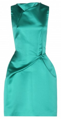 ROLAND MOURET - Zonda Satin Dress - Designer Dress Hire