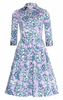 SAMANTHA SUNG - Audrey Paisley Dress - Designer Dress hire