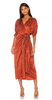 GINA BACCONI - Leticia Dress And Scarf - Designer Dress hire