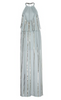 SASS & BIDE - Striped Sequin Gown - Designer Dress hire