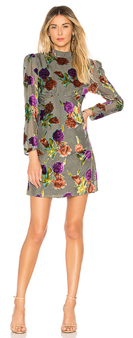 SAYLOR - Suri Floral Dress - Designer Dress hire