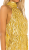 SAYLOR - Alexi Metallic Dress - Designer Dress hire