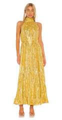 SAYLOR - Alexi Metallic Dress - Rent Designer Dresses at Girl Meets Dress