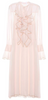 McQ ALEXANDER MCQUEEN - Khaki and Pink Intarsia Dress - Designer Dress hire